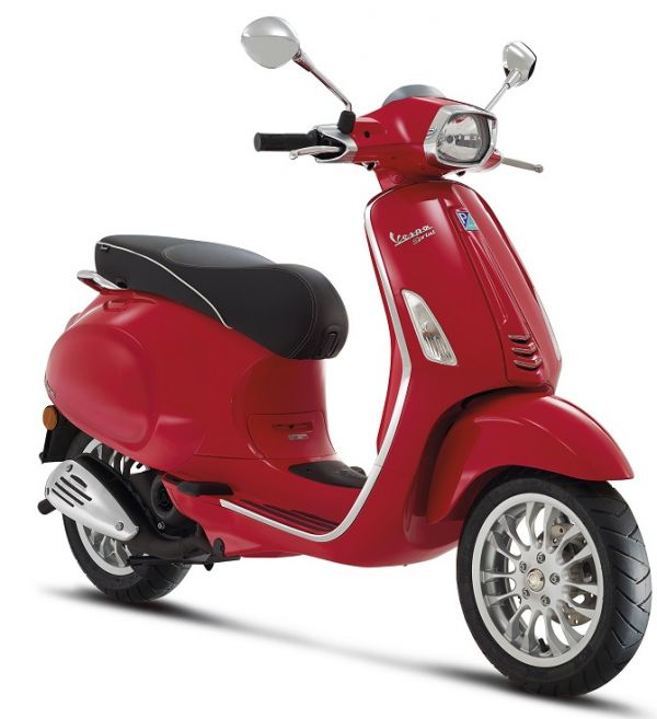 Vespa Primavera,Sprint per mnd of in 2015