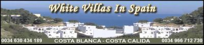 White Villas In Spain