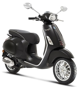 Vespa Primavera,Sprint per mnd of in 2016