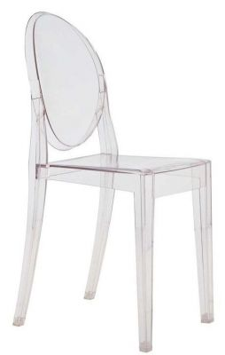 Ghost design stoel, Philippe Starck in Transparant kristal