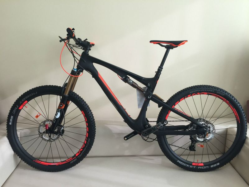 Nieuw 2015 Scott Genius 700 Full Suspension Carbon Mountain Bike