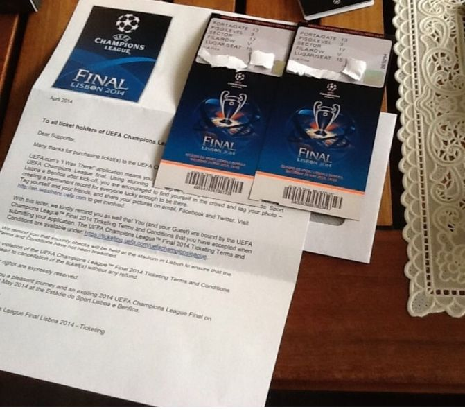 UEFA Champions League Finale 2014 Tickets