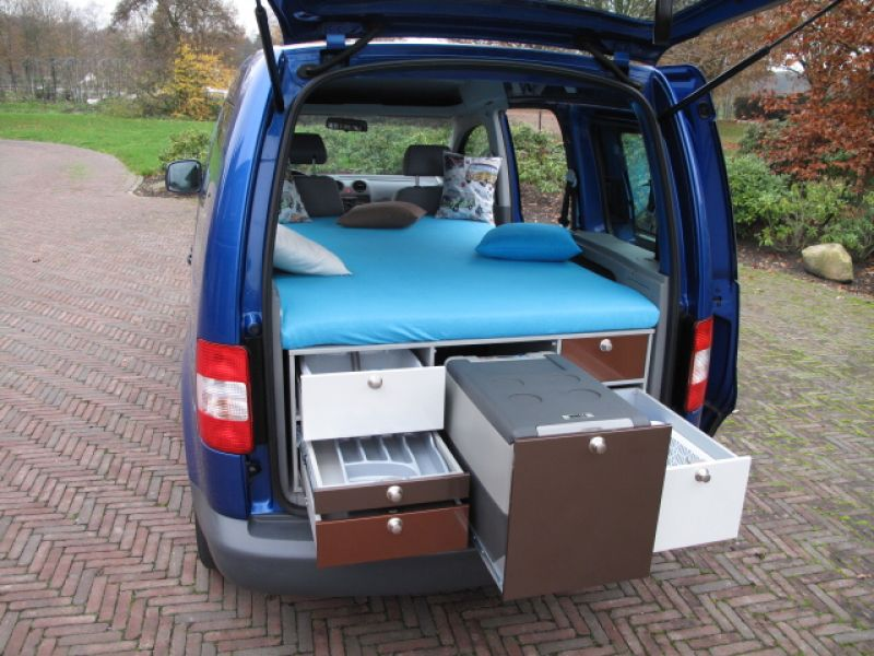 MAC Box, Modulaire Auto Camperbox (keuken & bed modules)