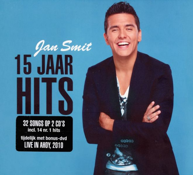 JAN SMIT - 15 JAAR JAN SMIT ( 2 CD'S +  DVD )IS NIEUW
