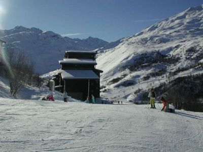 Wintersport: 4/5 pers. appartement th in LES MENUIRES